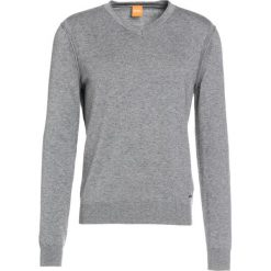 Kardigany męskie: BOSS CASUAL ALBONO Sweter light grey