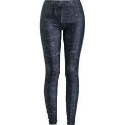Gothicana by EMP Built For Comfort Legginsy czarny. Czarne legginsy we wzory Gothicana by EMP, xl. Za 99,90 zł.