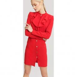 Czerwona Sukienka Accurately. Czerwone sukienki mini marki other, uniwersalny. Za 79,99 zł.