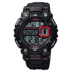 Biżuteria i zegarki męskie: Zegarek Q&Q Męski  M161-001 Dual Time