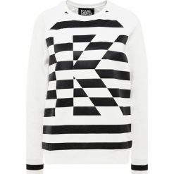 KARL LAGERFELD STRIPE Bluza black/white. Czarne bluzy rozpinane damskie KARL LAGERFELD, l, z bawełny. Za 739,00 zł.