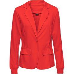 Marynarki i żakiety damskie: Żakiet shirtowy bonprix czerwony