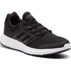 Buty adidas - Galaxy 4 F35163 Cblack/Cblack/Cblack. Czarne buty do biegania męskie marki Adidas, z materiału. Za 199,00 zł.