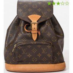 """Plecaki damskie: Plecak """"Montsouris MM"""" w kolorze brązowym – 25 x 27 x 10 cm"""
