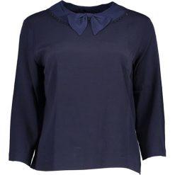 Bluzki damskie: Bluzka w kolorze granatowym