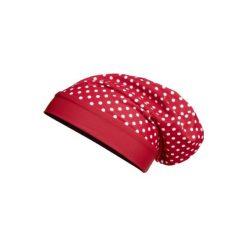 Playshoes  Czapka UV Beanie Punkty czerwony - Gr.Moda (2 - 6 lat). Czerwone czapeczki niemowlęce marki Playshoes, z elastanu. Za 29,00 zł.