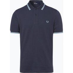 Fred Perry - Męska koszulka polo, niebieski. Niebieskie koszulki polo Fred Perry, m, z bawełny, z krótkim rękawem. Za 359,95 zł.