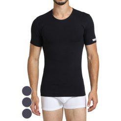 T-shirty męskie: T-shirt (3 szt.) w kolorze granatowym