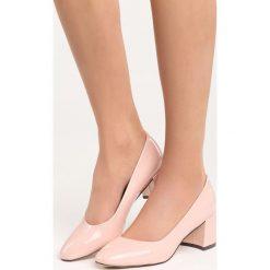 Różowe Czółenka My Fantasy. Czerwone buty ślubne damskie marki Born2be, na obcasie. Za 59,99 zł.