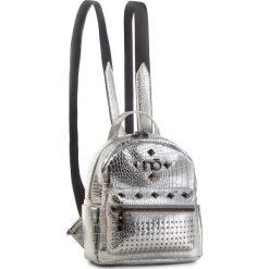 Plecak NOBO - NBAG-F2420-C022 Srebrny. Szare plecaki damskie Nobo, ze skóry ekologicznej. W wyprzedaży za 159,00 zł.