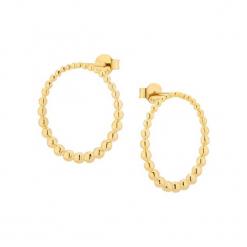 Pozłacane kolczyki. Żółte kolczyki damskie Alicja&Maria Premium, pozłacane. W wyprzedaży za 149,95 zł.