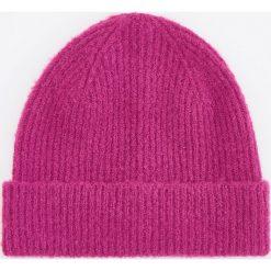 Czapka - Fioletowy. Fioletowe czapki damskie Reserved. Za 39,99 zł.