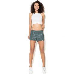 Colour Pleasure Spodnie damskie CP-020 237 zielone r. XL/XXL. Fioletowe spodnie dresowe damskie marki Colour pleasure, uniwersalny. Za 72,34 zł.