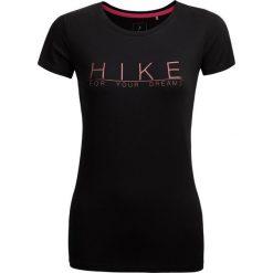 T-shirt damski TSD615 - głęboka czerń - Outhorn. Szare t-shirty damskie marki Outhorn, melanż, z bawełny. Za 39,99 zł.