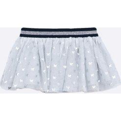 Blukids - Spódnica dziecięca 74-98 cm. Szare spódniczki dziewczęce Blukids, z bawełny, mini. W wyprzedaży za 59,90 zł.