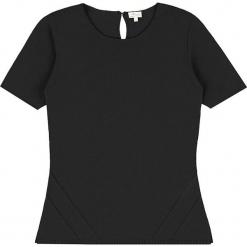 Sweter kaszmirowy w kolorze czarnym. Czarne swetry klasyczne damskie marki Ateliers de la Maille, z kaszmiru, z okrągłym kołnierzem. W wyprzedaży za 318,95 zł.