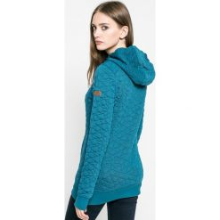 Roxy - Bluza. Zielone bluzy rozpinane damskie Roxy, s, z dzianiny, z kapturem. W wyprzedaży za 269,90 zł.