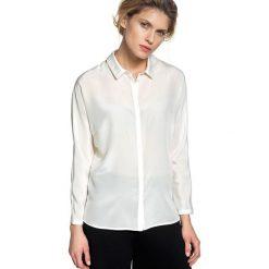 Bluzki asymetryczne: Bluzka w kolorze białym
