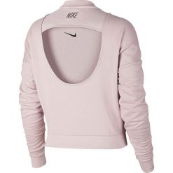 Bluzy rozpinane damskie: bluza sportowa damska NIKE DRY TRAINING TOP LONG SLEEVE / 889243-684 - TRAINING TOP LONG SLEEVE