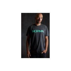 T-shirt Mint. Szare t-shirty męskie z nadrukiem Norma, l. Za 75,00 zł.