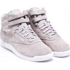 Reebok Classic - Buty Powder. Szare buty sportowe damskie reebok classic marki Reebok Classic, z materiału. W wyprzedaży za 179,90 zł.
