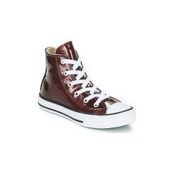 Buty Dziecko Converse  CHUCK TAYLOR ALL STAR HI. Czerwone trampki chłopięce marki Converse, retro. Za 239,00 zł.