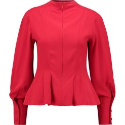Bluzki asymetryczne: Topshop TUCK WAIST Bluzka red