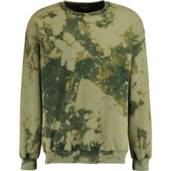 Bejsbolówki męskie: 12 Midnight HEAVY BLEACH WASH Bluza military green