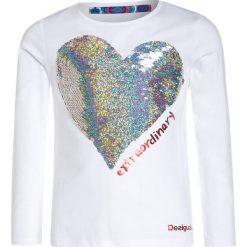 Desigual VANCOUVER Bluzka z długim rękawem blanco. Białe bluzki dziewczęce Desigual, z bawełny, z długim rękawem. W wyprzedaży za 135,20 zł.