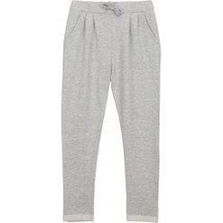 Spodnie dresowe dziewczęce: Spodnie dresowe z zakładkami dla dziewczynki 9-12 lat
