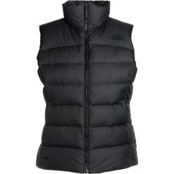 The North Face NUPTSE VEST BLACK/GREY Kamizelka black/grey. Różowe kamizelki damskie marki The North Face, m, z nadrukiem, z bawełny. W wyprzedaży za 559,30 zł.