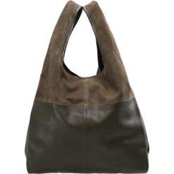 Topshop Torba na zakupy khaki. Brązowe shopper bag damskie Topshop. W wyprzedaży za 335,20 zł.