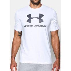 Under Armour Koszulka męska CC Sportstyle Logo Biała r. S (1257615-108). Szare koszulki sportowe męskie marki Under Armour, z elastanu, sportowe. Za 71,16 zł.