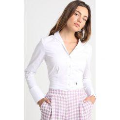 Seidensticker Bluzka optical white. Białe bluzki damskie Seidensticker, z bawełny. Za 399,00 zł.