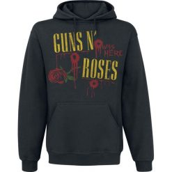 Bluzy męskie: Guns N' Roses Ripped Through Bluza z kapturem czarny