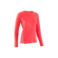 Koszulka do biegania długi rękaw RUN SUN PROTECT damska. Czarne t-shirty damskie marki Mohito, l. Za 29,99 zł.