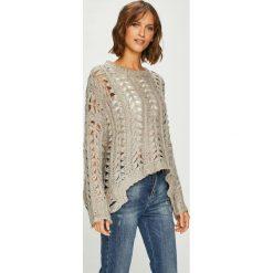 Answear - Sweter. Szare swetry oversize damskie ANSWEAR, l, z poliesteru. W wyprzedaży za 139,90 zł.