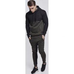 Bejsbolówki męskie: SIKSILK CUT & SEW OVERHEAD Bluza z kapturem khaki/black