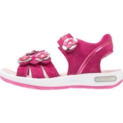 Superfit EMILY Sandały berry. Fioletowe sandały chłopięce marki Superfit, z materiału. Za 299,00 zł.