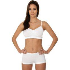 Biustonosze sportowe: Brubeck Biustonosz Comfort Cotton biały r. 70C (BR00012A)
