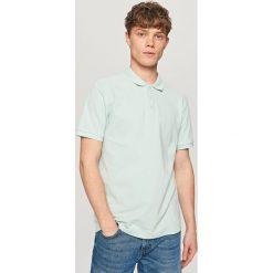 Koszulki polo: Klasyczna koszulka polo – Turkusowy