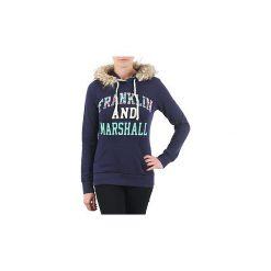 Bluzy Franklin   Marshall  COWICHAN. Niebieskie bluzy rozpinane damskie Franklin Marshall, xs. Za 405,30 zł.