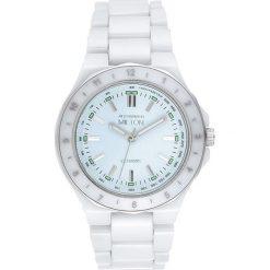 """Zegarki męskie: Zegarek kwarcowy """"Keren"""" w kolorze biało-srebrnym"""