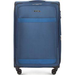 Walizka duża 56-3S-583-90. Niebieskie walizki marki Wittchen, duże. Za 419,00 zł.