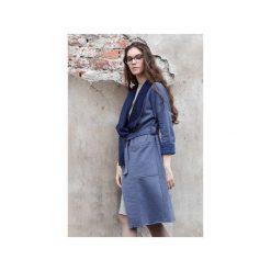 Długa Granatowa Bluza z Dzianiny Dresowej CADO. Niebieskie bluzy z kieszeniami damskie CADOaccessories, na jesień, xs, z bawełny, z długim rękawem, długie. Za 119,00 zł.