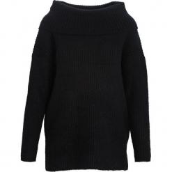 Czarny Sweter Deluge. Czarne swetry klasyczne damskie Born2be, na jesień, l, z golfem. Za 99,99 zł.
