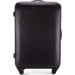 Walizka duża 56-3-613-10. Czarne walizki marki Wittchen, z gumy, duże. Za 279,00 zł.