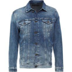 Mavi FRANK Kurtka jeansowa mid spain comfort. Niebieskie kurtki męskie jeansowe marki Reserved, l. Za 349,00 zł.