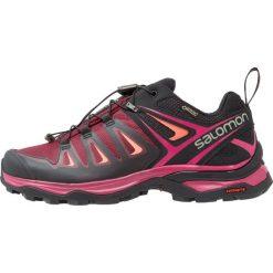 Salomon X ULTRA 3 GTX  Obuwie hikingowe tawny port/black/living coral. Fioletowe buty sportowe damskie Salomon. Za 659,00 zł.