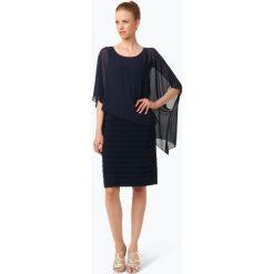 Sukienki: Ambiance – Elegancka sukienka damska, niebieski